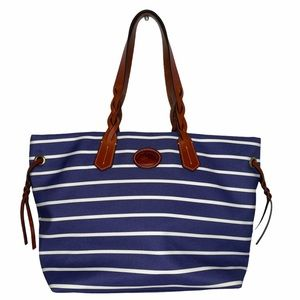 Dooney & Bourke Sullivan Shopper Striped Nylon